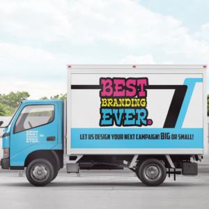 Best Branding Ever Campaign Social Media Truck