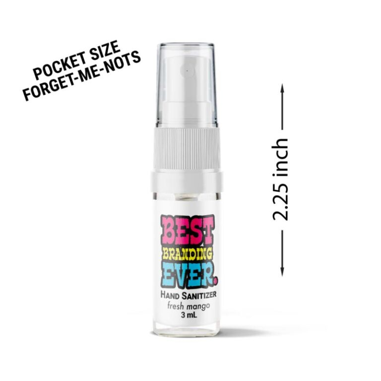 Forget-Me-Nots Custom Hand Sanitizer