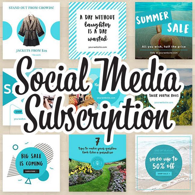 Best Branding Ever Social Media Subscription